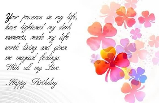 a sweet birthday poem ; Sweet-Birthday-Poems-For-My-Love-540x351