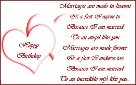a sweet birthday poem ; Sweet-Birthday-Poems-For-Wife-1-540x338