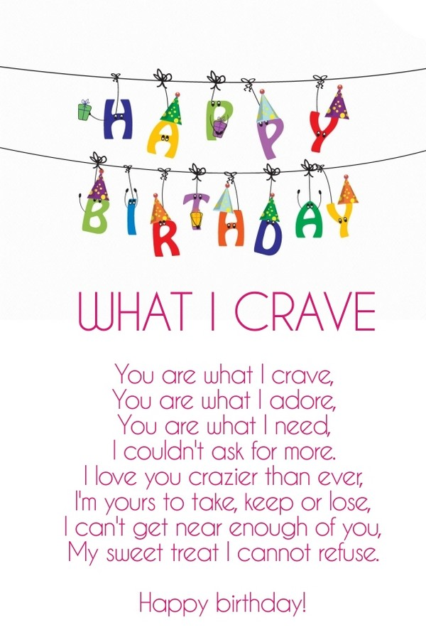 a sweet birthday poem ; romantic-birthday-poems-for-wife