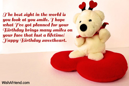 a sweet happy birthday message to your girlfriend ; 1546-girlfriend-birthday-messages