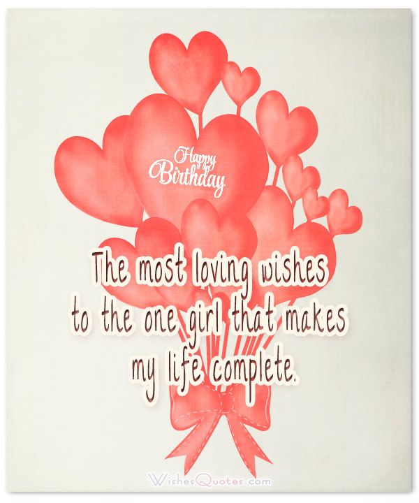 a sweet happy birthday message to your girlfriend ; happy-birthday-my-loving-girl