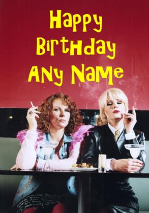 absolutely fabulous birthday card ; absolutely-fabulous-ab-fab-birthday-card-981-p