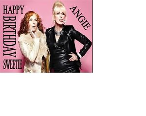 absolutely fabulous birthday card ; s-l300-2