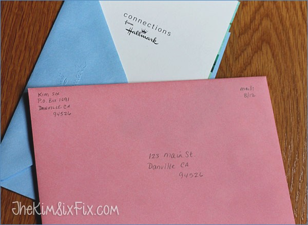 addressing a birthday card ; how-to-never-for-to-mail-a-greeting-card-again-the-kim-six-fix-of-what-to-write-on-birthday-card-envelope