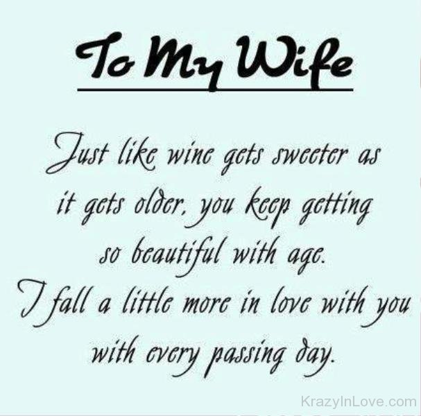 age like wine birthday quote ; To-My-Wife-Just-Like-Wine-yu7828
