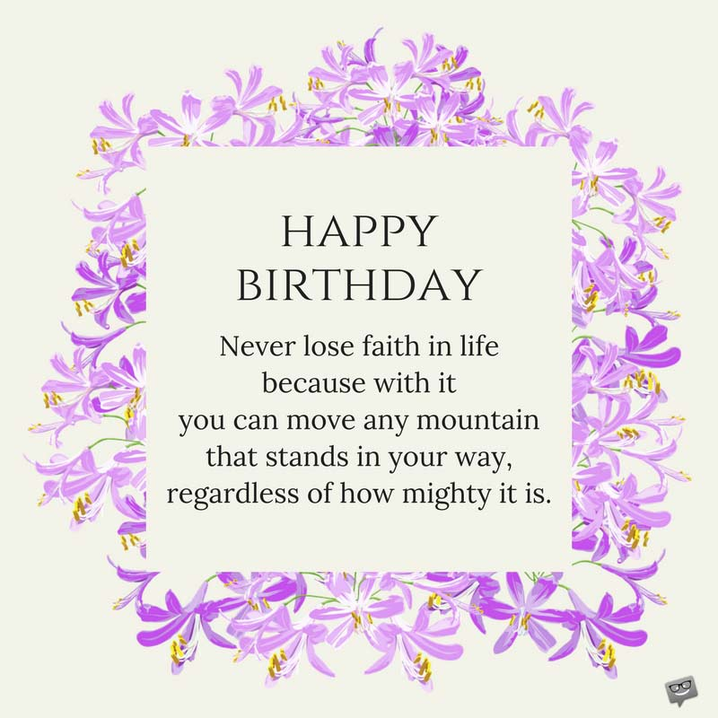 an inspirational birthday message ; Inspirational-birthday-wish-for-Sister