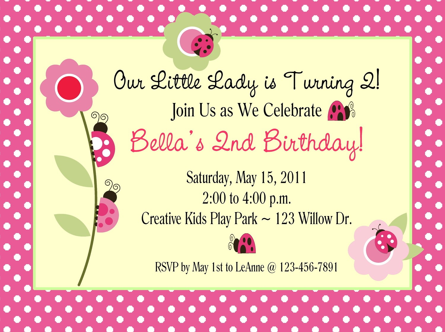 an invitation card for a birthday party ; Awesome-Nice-Birthday-Party-Invitations-Card