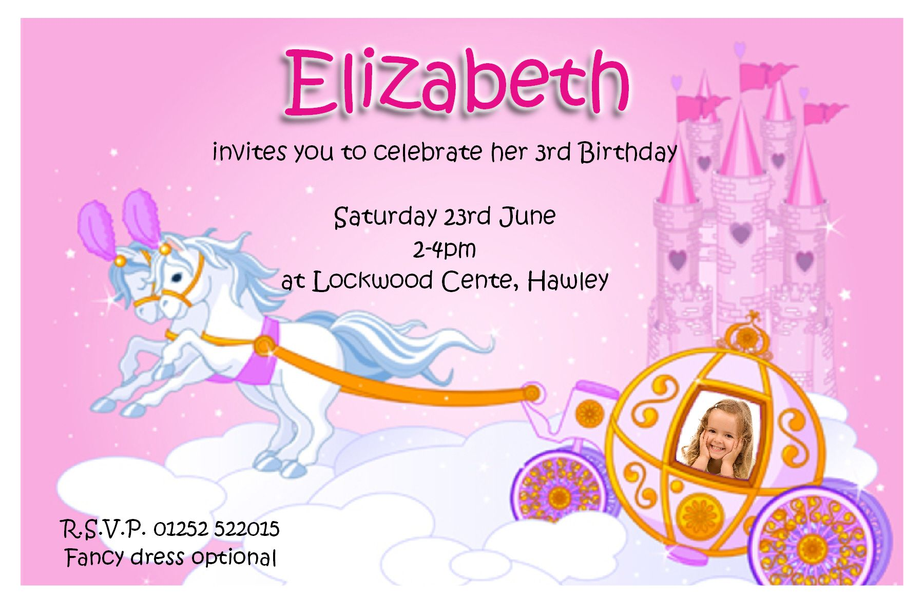 an invitation card for a birthday party ; birthday-party-invitation-cards-to-bring-more-colors-on-your-decorative-Party-invitations-16