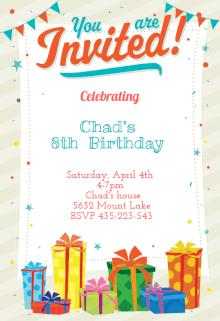 an invitation card for a birthday party ; birthday-party-invitation-templates-for-the-best-Birthday-Invitation-you-have-unique-15