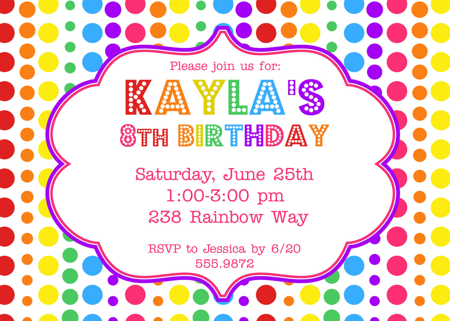 an invitation to birthday party ; Birthday-party-invitations-and-get-inspiration-to-create-the-party-invitation-design-of-your-dreams-1