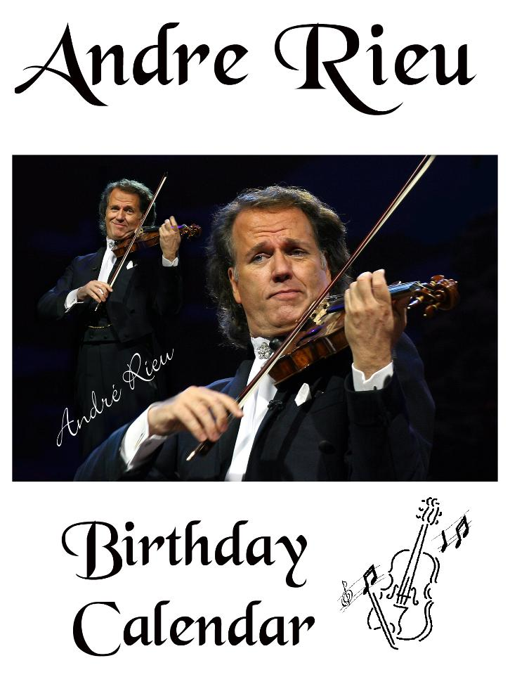 andre rieu birthday card ; Front_page-726x980