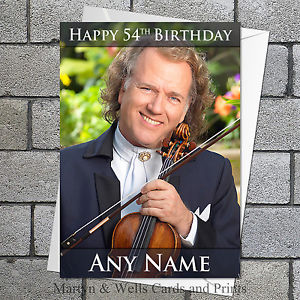 andre rieu birthday card ; s-l300