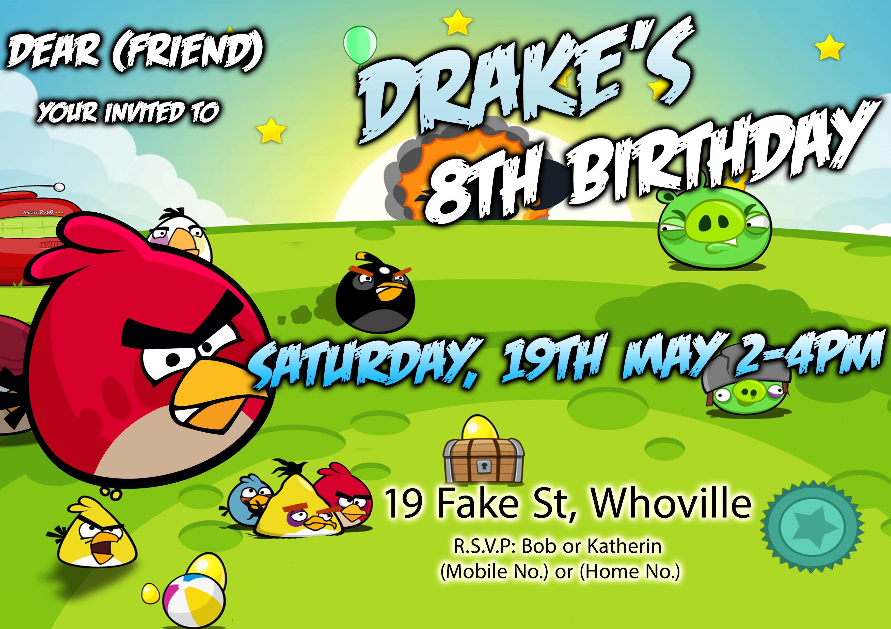 angry bird birthday invitation card ; Incredible-Angry-Birds-Birthday-Invitations-As-An-Extra-Ideas-About-Free-Birthday-Invitation-Templates