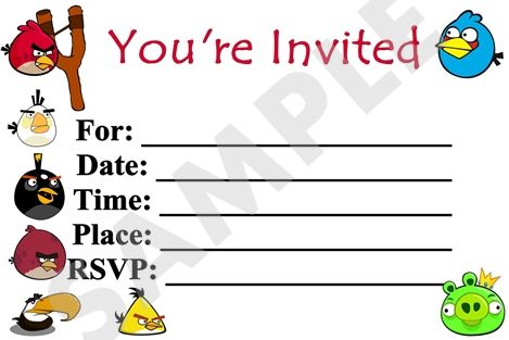 angry birds birthday party invitations printable ; 568d2169ae83f8f870703bbf274ddaee