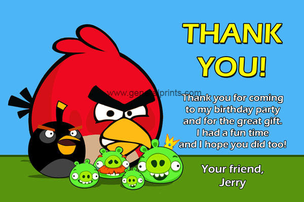 angry birds birthday party invitations printable ; angry-birds-thank-you