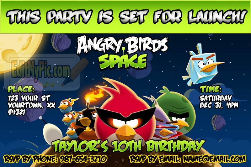 angry birds birthday party invitations printable ; angry_space_1_1