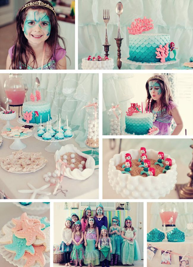 ariel birthday party ; 590a06248b26ca4c484d5d2c8fc549d9