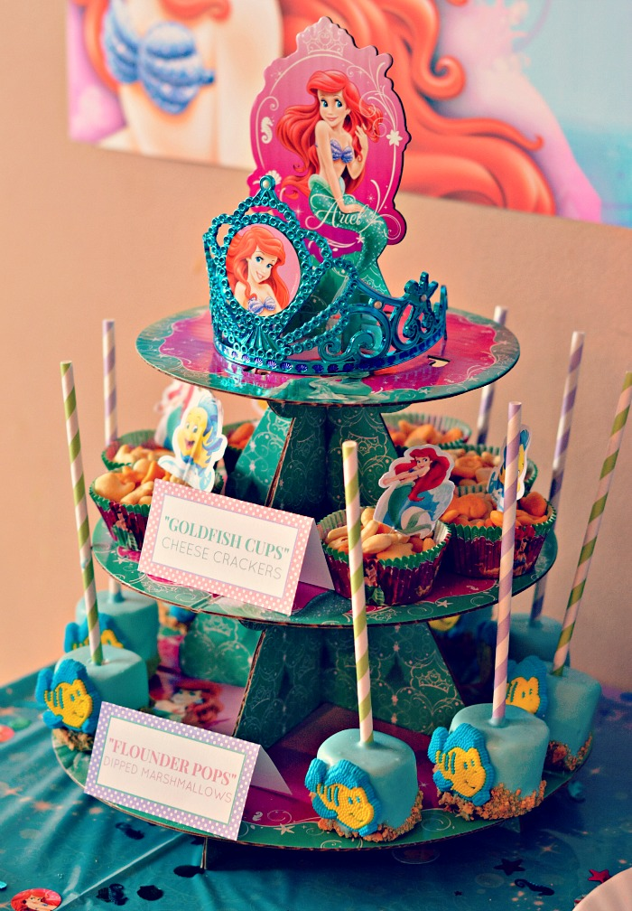 ariel birthday party ; ariel-birthday-party-ideas