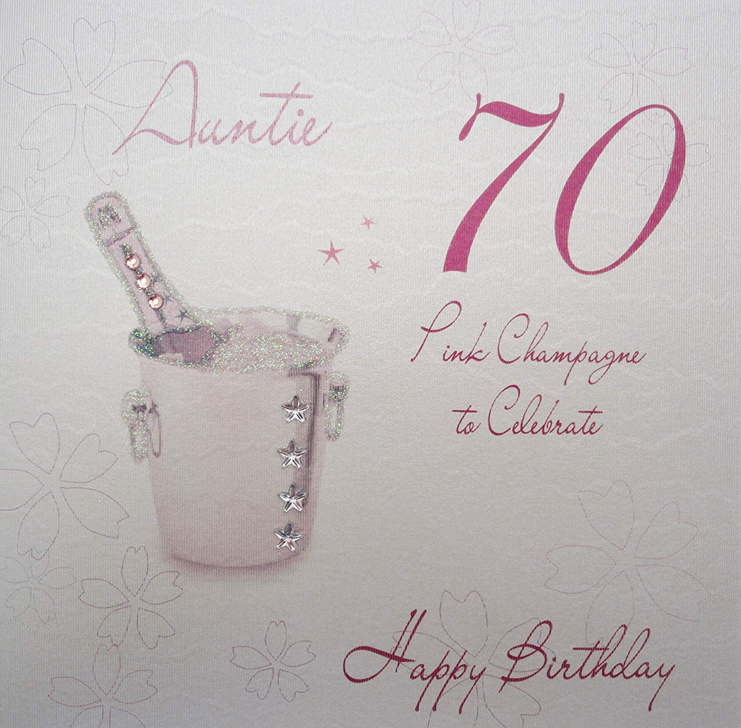 auntie 70th birthday card ; 91UaNTPHuTL