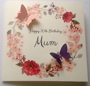 auntie 70th birthday card ; s-l300-1