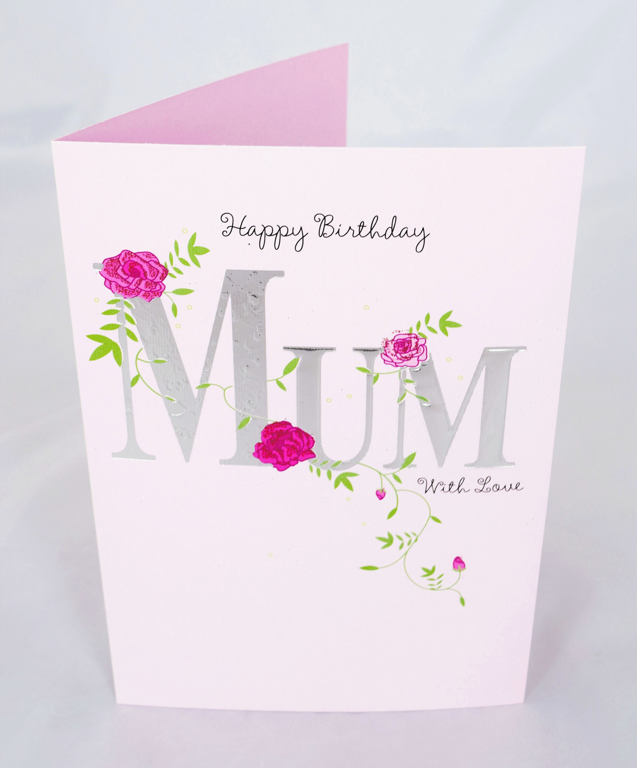 automatic birthday card service ; automatic-birthday-card-service-elegant-happy-birthday-mum-card-pink-floral-verse-poem-greeting-cute-for-of-automatic-birthday-card-service