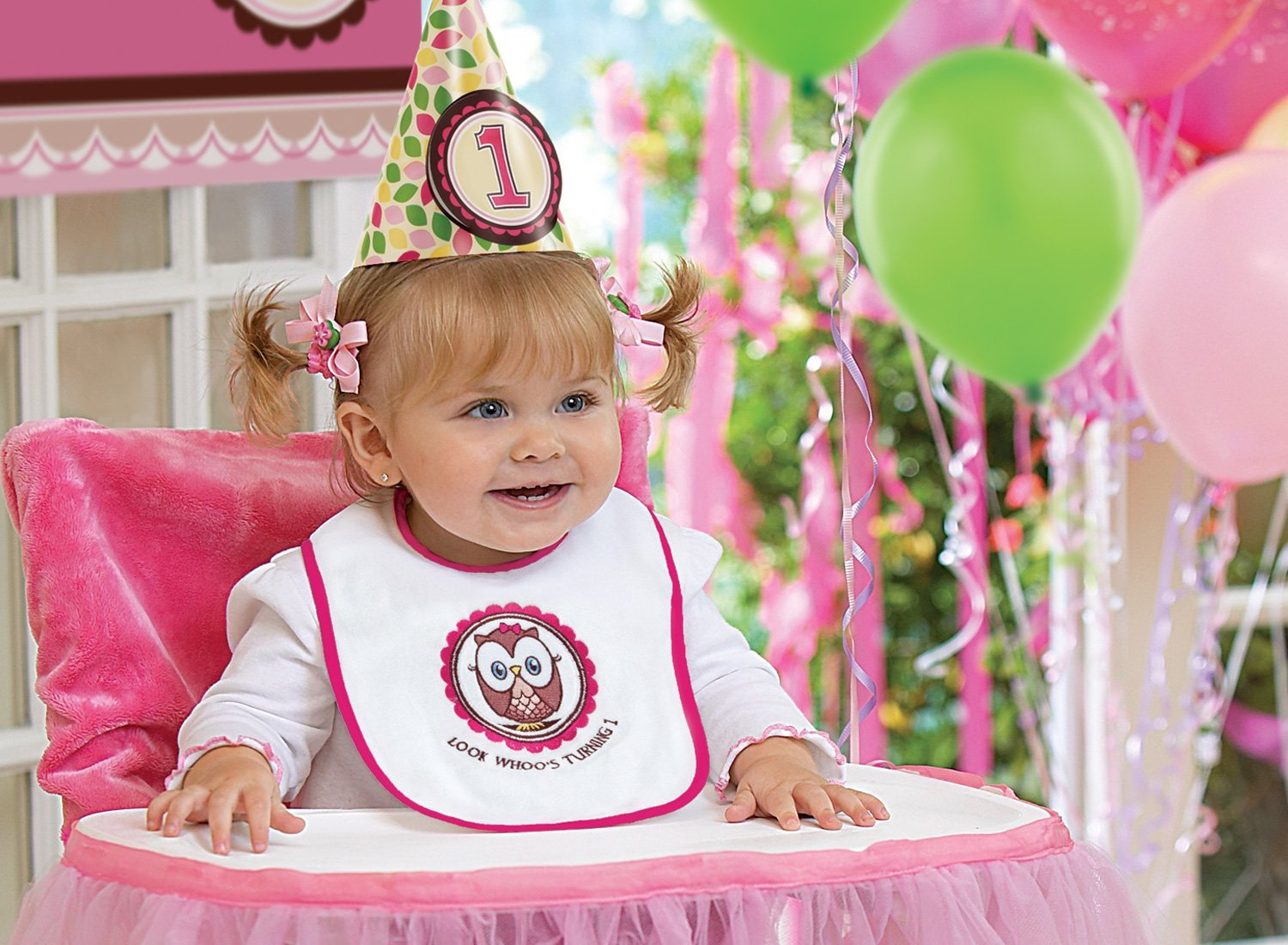 baby 1st birthday picture ideas ; say-cheese