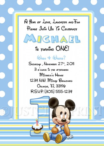 baby mickey 1st birthday photo invitations ; baby-mickey-invitations-birthday_baby-mickey-invitations-birthday-on-baby-party-supplies