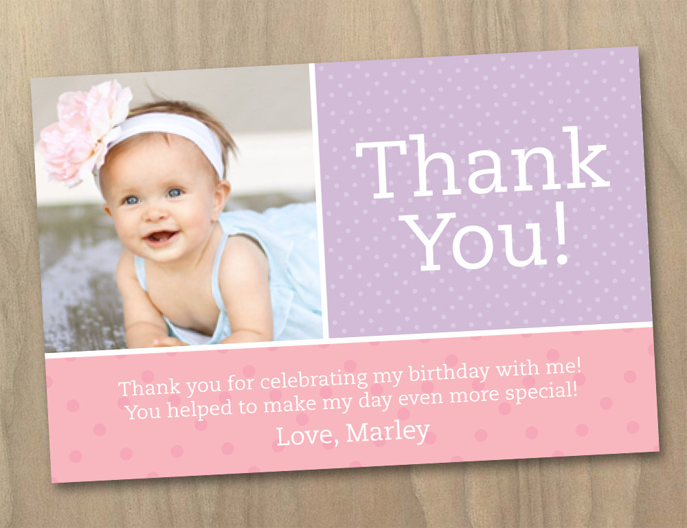 baby's first birthday card ideas ; First-Birthday-Fabulous-1st-Birthday-Thank-You-Card-Wording