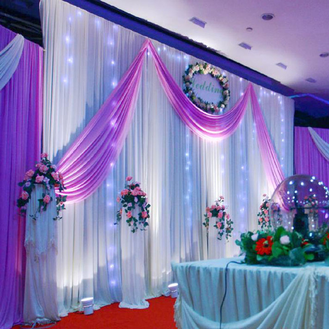 background decoration for birthday party at home ; Wedding-Decoration-1-5-5M-Wedding-Silk-Satin-Fabric-Wedding-Birthday-Party-Background-DIY-Curtain