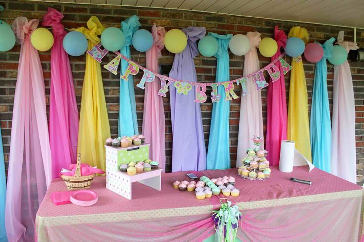 background decoration for birthday party at home ; original-first-birthday-background-around-cool-article
