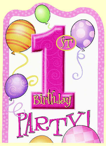 background for 1st birthday ; 1st-birthday-pink-invitations-background-19
