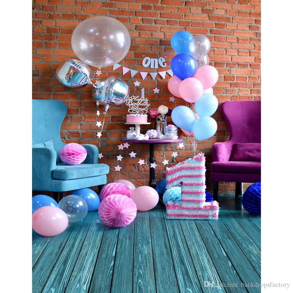 background for 1st birthday ; 5x7ft-baby-039-s-1st-birthday-party-photography