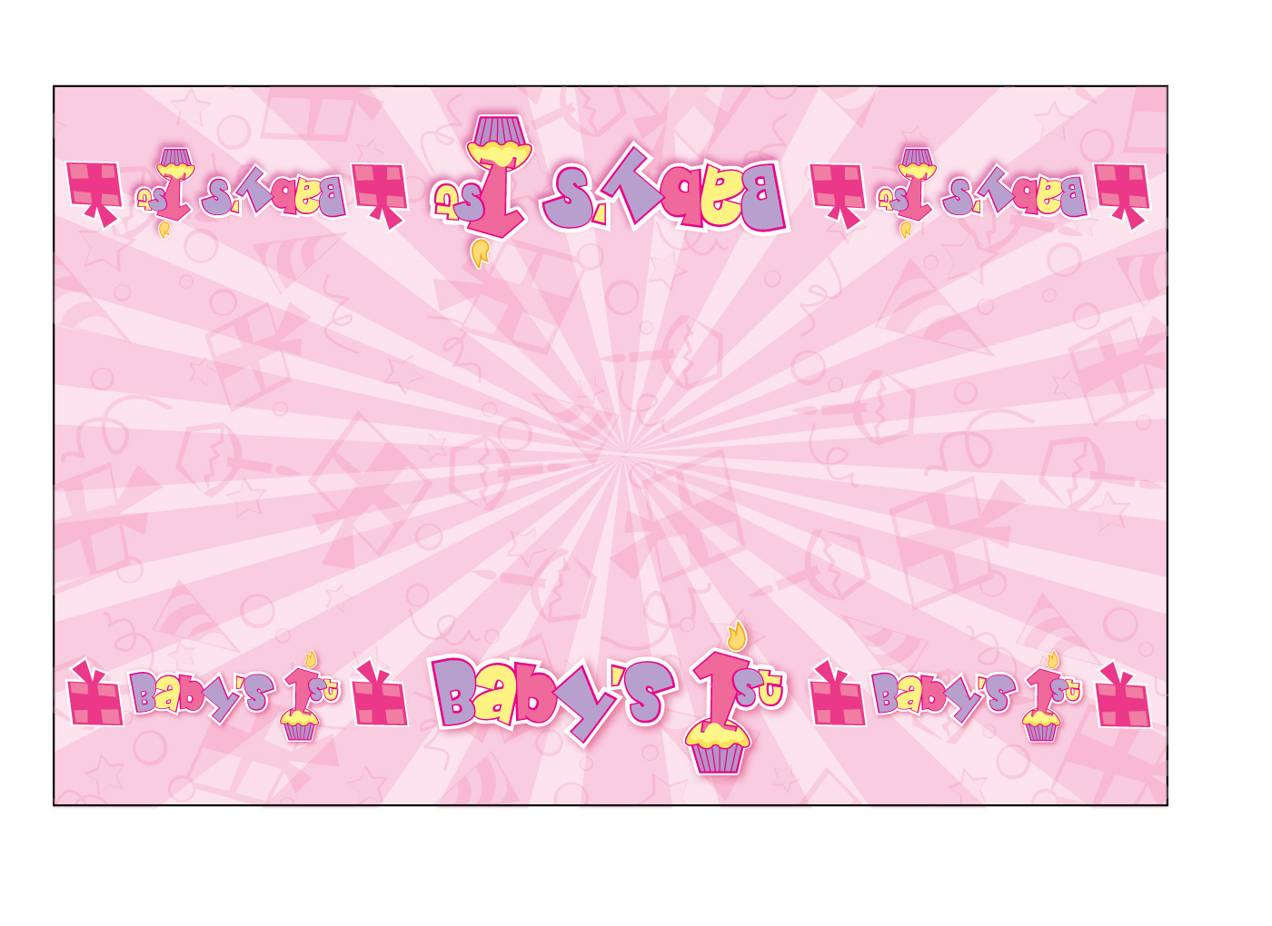 background for 1st birthday ; girl-birthday-1st-birthday-tablecloth-wallpaper-slides