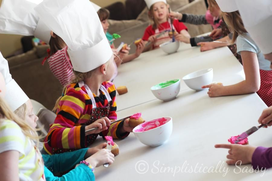 baking birthday party activities ; 8ad2beeb5c838b49d7f8234e98f5acfd