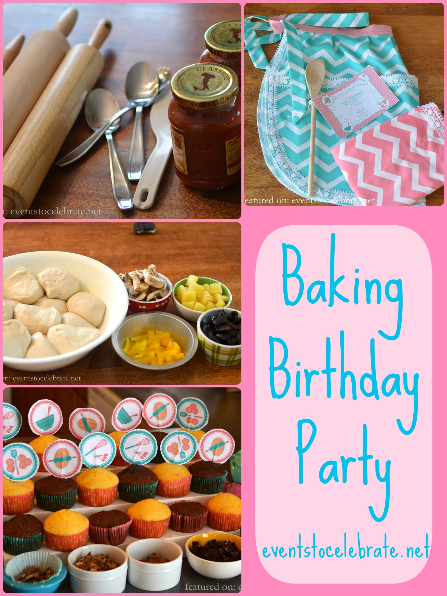 baking birthday party activities ; Baking-Birthday-Party-Ideas-events-to-CELEBRATE
