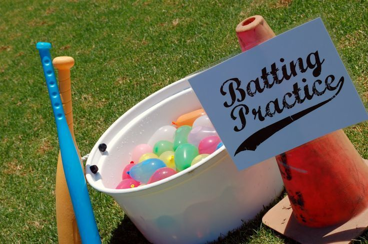 baseball birthday party activities ; 5d809f7a7460407c0f417988a1c67a70