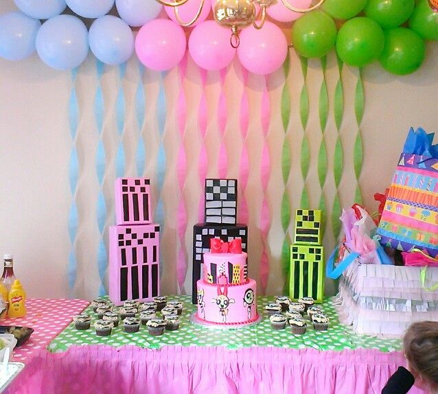 bday decoration ideas ; 1ff4c6986e5851f8302e5467d79eda4d--party-ideas-for-girls-birthday-party-ideas