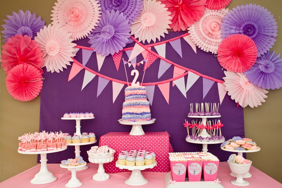bday decoration ideas ; Girls-Party-Ideas-12