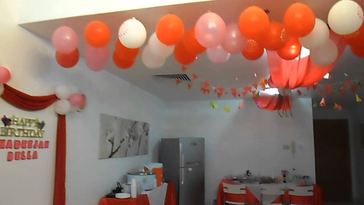bday decoration ideas ; maxresdefault-1