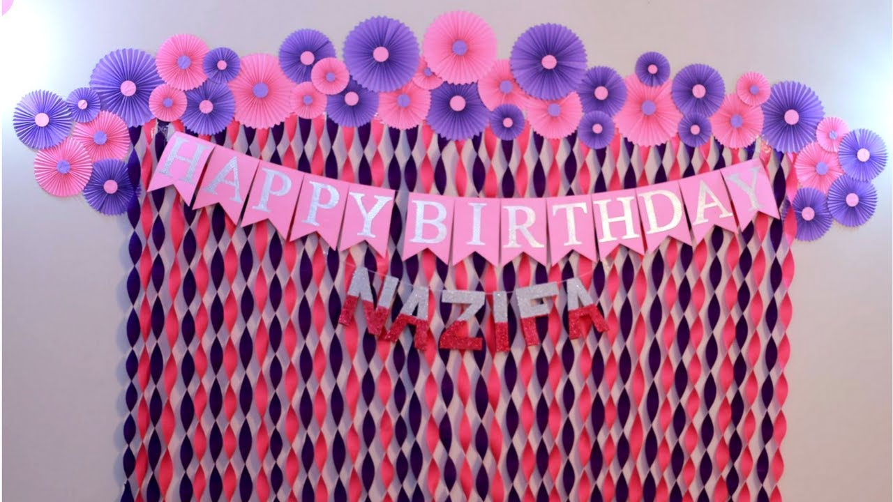 bday decoration ideas ; maxresdefault-2