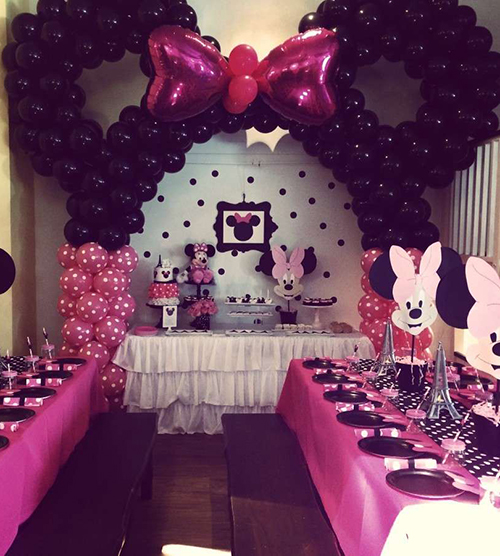 bday decoration ideas ; mmparty