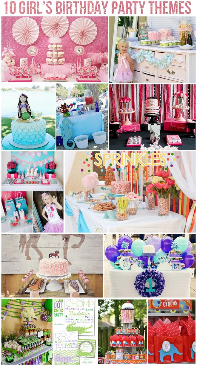 bday themes ; 10-girls-parties