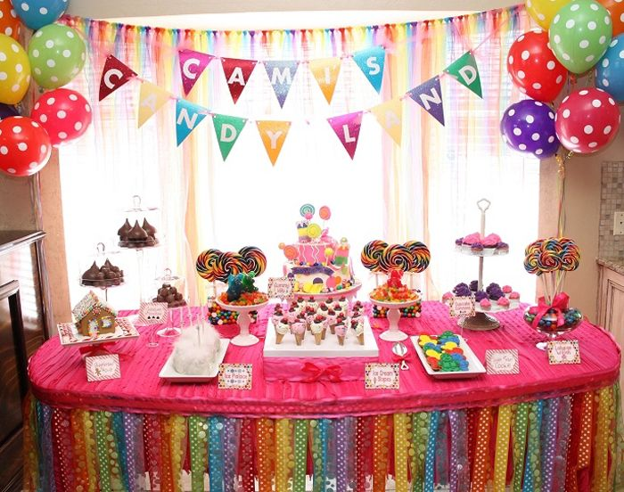 bday themes ; 7eff4f4b27fd25f95e7a5b031c937a75--rainbow-birthday-parties-themed-birthday-parties