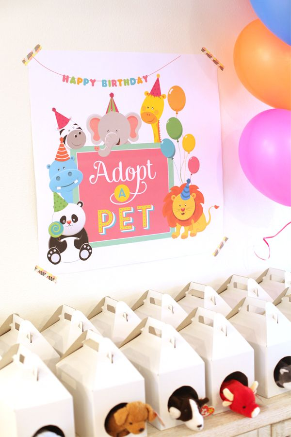 bday themes ; bday-themes-822c56d46a9d48b4ef4306e649adaf87-adopt-a-pet-birthday-party-ideas-vet-party-ideas