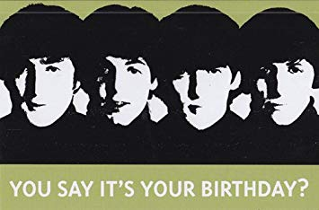 beatles today is your birthday card ; 411SXFp4fkL
