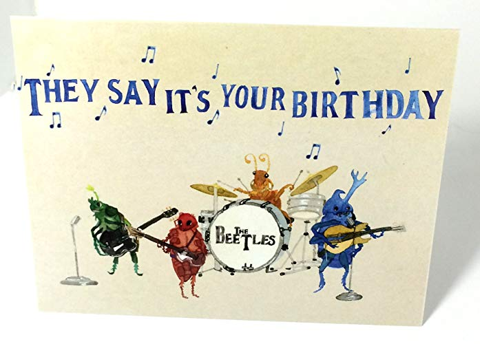 beatles today is your birthday card ; 81B2lLuIfyL