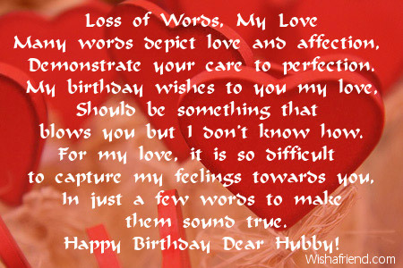 beautiful words for birthday wishes ; 2011-husband-birthday-poems
