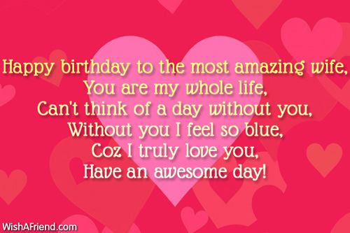 beautiful words for birthday wishes ; 7774-wife-birthday-wishes
