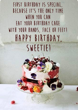 best bday message ; meaningful-birthday-wishes-message-with-bday-cake-image