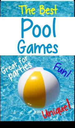 best birthday games ; pool-party-games